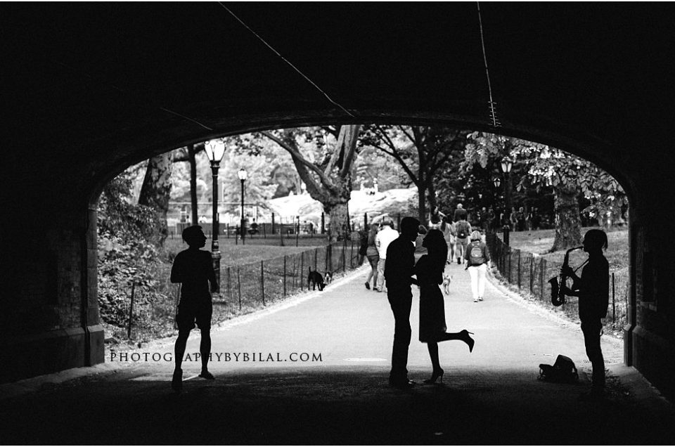 Central Park Engagement Session – Alina & Ibrahim